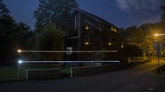 Time Becomes (• estatik •) Tags: icm intentional camera movement night long exposure new hope pa pennsylvania solebury dark darkness stream streak street house mechanic west spooky quiet bucks county