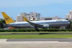 D-ABUM (jose_mendez23) Tags: boeing b767 airplane jetliner sju