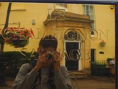 Le Champignon Sauvage (Stephen John Drury) Tags: lechampignonsauvage cheltenham michelin reflection reflections gold