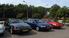 1995 Cadillac Eldorado / 1994 Rover 220 Coupé / 1995 Volvo 480 (rvandermaar) Tags: 1995 cadillac eldorado 1994 rover 220 coupé volvo 480 rover200 rover220 200 rovercoupé rover220coupé cadillaceldorado touring coupe 46 v8 s volvo480 volvo480s sidecode5 sidecode6 92jskr hjln63 lbvj05