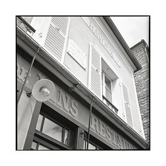 the last home • auvers-sur-oise, france • 2016 (lem's) Tags: last home derniere demeure van gogh auvers sur oise france restaurant inn auberge rolleiflex planar