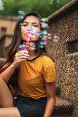 DSC_0452 (Cherrie Berry Photography) Tags: red washington dc portraitmeetdc model smile tricking bubbles portrait street park meridian hill nikon 50mm 70mm d5600