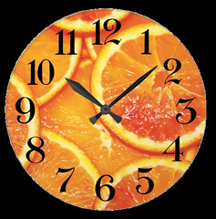reloj de pared rodajas naranja (fpcreations) Tags: naranja orange reloj wallclock fruta fruit eat cocina comida kitchen home decor homedecor decoración hogar brillante refrescante zumo juice interior interiorismo