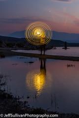 Light Painting at Mono Lake (Jeffrey Sullivan) Tags: mono lake committee astrophotography seminar night photography workshop california usa landscape nature travel canon eos 6d photo copyright august 2018 jeff sullivan sierra