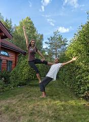 The joy and strength of love (Ingunn Eriksen) Tags: groupportrait nikond750 nikon yoga pose smile