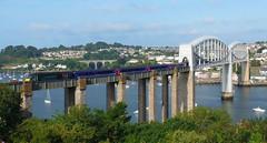 43093 Royal Albert Bridge (2) (Marky7890) Tags: gwr 43093 class43 hst 1a79 royalalbertbridge railway saltash cornwall cornishmainline train