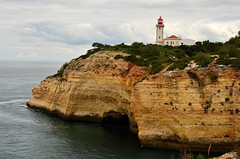 Alfanzina Lighthouse (tonyfernandezz) Tags: portugal cliff coast lighthouse algarve