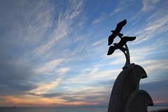 sunset (tkr.8010) Tags: japan sea sky sunset