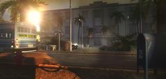 Miami Sunrise (Sienna Skye Foxdale) Tags: buildersbox fanatik bueno consignment kraftwork city citybus miami summer urban secondlife homeandgarden homedesign outdoors digitalart roads shopping commercial