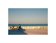 mare (matlorenzo94) Tags: marche marinapalmense portosangiorgio colors composition sky blue sea sunset photo photography canon cano canon7d paesaggimarchigiani minimalism