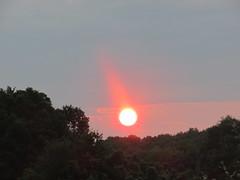 August sunrise (creed_400) Tags: sunrise dawn belmont west michigan august summer sky clouds sun