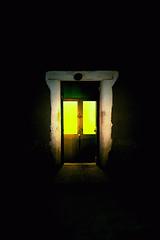 Through the Green Door (Spectacle Photography) Tags: night nightscape street streetphotography atacama san pedro de sanpedrodeatacama chile desert dust door greendoor nikon nikond750