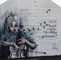 Good question (katrin glaesmann) Tags: island iceland reykjavík streetart wallpoetry2016 herakut kronosquartet