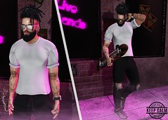 SK8 (Brendo Schneuta) Tags: ks skate camo dread flow glasses volkstone beard facial hevo pants shirts fli sneakers equal10 menonly tmd dubai event events output poses pose sk8 game avatar blog blogger bloggersl second secondlifeblog secondlife sl tatto street estilo style fashion moda men mens photoshop keepcalm