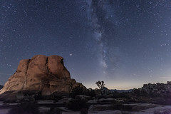 Milky Way at Intersection Rocks (SCSQ4) Tags: joshuatreenationalpark joshuatree intersectionrocks milkyway nightskies stars astrophotography