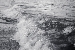 Meeresrauschen (Gret B.) Tags: meer wasser wellen waves ocean nordsee water spiekeroog strand schwarzweis blackandwhite