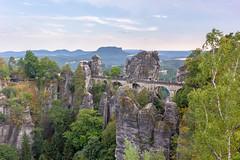 Basteibrücke (Ralph Apeldoorn) Tags: bastei basteibrucke basteibrücke bridge brug duitsland germany lohmen sachsen de