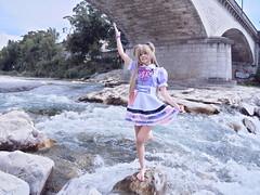 Shooting Kilari - Betachuu - Drôme - Crest - 2018-07-26- P1288045 (styeb) Tags: shoot shooting kilari crest drome 2018 juillet 26 cosplay river xml retouche modelbetachuu été