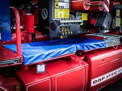 Daf Xf 105.510 Super Space Crane Tractor (MVCommercial) Tags: mvcommercial hislops truck trucks crane tractor unit xf daf alcoa alloys pinstriping custom tartan roxburgh kelso