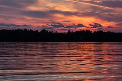 IMG_4593-1 (Andre56154) Tags: schweden sweden sverige wasser water ufer himmel sky wolke cloud landschaft landscape sonnenuntergang sunset abendrot afterglow meer schären