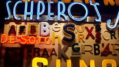 Jumble (trekkie313) Tags: advertising art signs sign neonsign neon letters words museum cincinnati ohio plastic text wood
