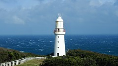 Cape Otway Lightstation, South Australia (seosan sylvie) Tags: foam ecume phare oceanpacifique vagues tempete waves sky capeotwaylightstation capeotway greatoceanroad australia ocean shipwrecks pacificocean lighthouse tempest sea naturelandscape