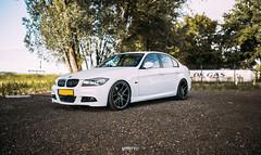 Sander's BMW E90 335i (RHiensch) Tags: sander koelemij bmw e90 335i sedan lowered stance jrwheels jr japanracing japan racing japanracingwheels nijkerk fct fullcartuning