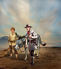 On the way to the city (jaci XIII) Tags: pessoa menino burro homem animal fábula esopo person boy man fable aesop