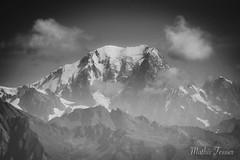Le Mont Blanc (MathisTessier) Tags: alpes mountain montagne noiretblanc nb montblanc