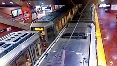 (sftrajan) Tags: castrostation munimetro transit trains bredacars sanfrancisco 2018 muni subway metro