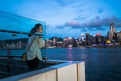 Hong Kong, China. August 2018 (Victor M. Perez) Tags: leicam10 leica streetphotography innerself meditation solitude fareast asia promenade kowloon china hongkong
