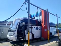 Edwards Coaches (Woolfie Hills) Tags: edwards coaches depot visit