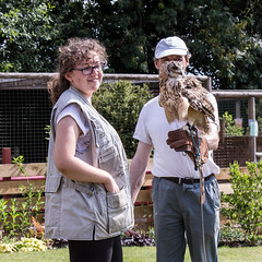 Indian eagle owl (JOHN BRACE) Tags: for 50th birthday clare lovely wife got me bird prey afternoon huxleys horsham here am with indian eagle owl bubo bengalensis