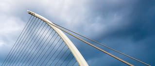 Dublin; Samuel Beckett Bridge