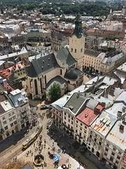 Snapseed 3 (vv.vika01) Tags: lviv architecture view aboveview panorama buildings urban