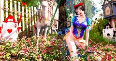snow white@girl power (imp朣) Tags: secondlife life second snowwhite summer