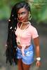 OOAK AA Barbie (wixanawiggova) Tags: doll barbie curvy barbiedoll afroamerican rasta dreads dreadlocks