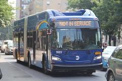 IMG_0385 (GojiMet86) Tags: mta nyc new york city bus buses 2018 xn60 1023 bx19 southern blvd 185th street