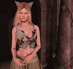 Meow! (Blogger @ Syleena Sheridan - The fashion gallery) Tags: go slackgirl slblogger slfashion slfashionblogger slgacha slfantasyfashion exile gachagarden