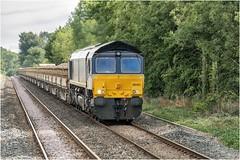 66303. Settle. (Alan Burkwood) Tags: sc settle drs 66303 mountsorrelcarlisle ballast freight diesel locomotive