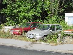 Rover Scrappers. (Andrew 2.8i) Tags: car cars classic classics carspotting street spot spotting british sports austinrover metro 100gsi gsi 100 414si 414 400 si 400si rover uk unitedkingdom