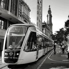 VLT - Rio de Janeiro (alvarolsalmeida) Tags: fav50 vlt tram riodejaneiro brazil brasil 021 fav100 bw blackandwhite blacknwhite urban errejota fav150