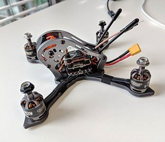 Welcome to the #fpv family little #geprc #sparrow. Can't wait to kick you around the corners (NikolaiBockholt) Tags: welcome fpv family little geprc sparrow cant wait kick you around corners