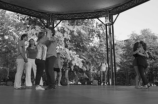 Dancing in Geneva