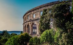 Amphitheatre Pula (rwfoto_de) Tags: pentaxda15hdltd amphitheater kroatien sehenswürdigkeiten pula europa urlaub istrien istarskažupanija hr