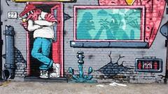 Resto / BIY - 8 aug 2018 (Ferdinand 'Ferre' Feys) Tags: gent ghent gand belgium belgique belgië streetart artdelarue graffitiart graffiti graff urbanart urbanarte arteurbano ferdinandfeys resto