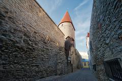 Wall and Tower - Tallinn (BlueVoter - thanks for 2.1M views) Tags: tallinn estonia eesti tower medieval wall