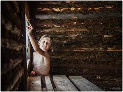 2018-08-Camp, SPb, Russia - 027-Edit-2 (Mandir Prem) Tags: people photosession places relatives russia stpetersburg tamara banya indoor light painting picture portrait sauna steam stefan toma window wood wooden тамара тома томка