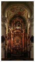 In der Mariahilfer Kirche (Hochaltar) (Wolfgang Bazer) Tags: mariahilfer kirche mariahilf parish church barnabitenkirche haydnkirche baroque barock barockkirche pfarrkirche hochaltar high altar wien vienna österreich austria