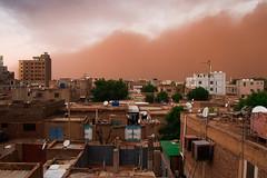 Dust storm (Dr.Luay) Tags: duststorm dust storm sand desert sudan khartoum africa buhari khartoumnorth canon canon80d canoneos80d foto khartum 18135mm city sky